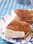 paves-de-cabillaud-roti-au-bacon-et-au-thym-puree-de-petits-pois-299x380